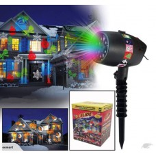 SLIDE SHOW CHRISTMAS HALLOWEEN HOLIDAY PROJECTOR SYSTEM-Free shipping