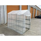 New Walk-in Greenhouse With Shelves-Free shipping