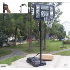 Basketball hoop and stand system