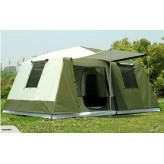Large And 2.5m High 3 Rooms Family Tent
