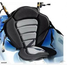 Deluxe Adjustable Kayak Seat with Detachable Back Bag