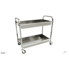 Stainless Steel 2 Tier Trolleys