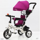 Canopy Tricycle with pushing bar- 4 colour choose-Free shipping
