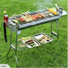 Portable Stainless Steel BBQ Grill-Free shipping