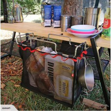 Camping Portable Storage Picnic Table Rack Net Bag-Free shipping