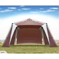 Outdoor Canopy Party Shelter Tent With 1 Solid Curtain-Free shipping