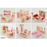 Dolls house Furniture x 6 sets