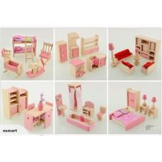 Dolls house Furniture x 6 sets