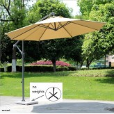 Deluxe Outdoor 10' Patio Umbrella-Free shipping