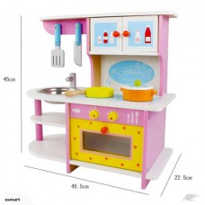 Wooden Kids Kitchen Toy Set-Free shipping