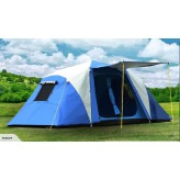 Luxury Aluminium Pole Automatic Instant 2 Bedrooms tent