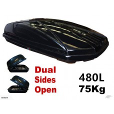 Universal 480L DUAL SIDES OPEN Car Roof Luggage Box