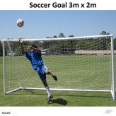 Heavy Duty 3m*2m Soccer Football Goal With Net-Free shipping