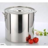 NEW 30L STAINLESS STEEL STOCK POT SAUCE