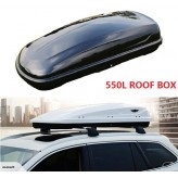Universal 550L DUAL SIDES OPEN Car Roof Luggage Box