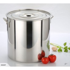 NEW 20L STAINLESS STEEL STOCK POT SAUCE