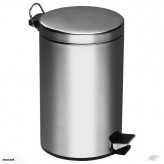 STAINLESS STEEL PEDAL RUBBISH BIN 8L-Free shipping