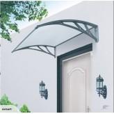 DIY DOOR/WINDOW AWNING 1.0m x 1.2m-Gray Colour