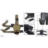 Camouflage Military Tactical Leg Gun Bag-CP
