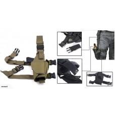 Camouflage Military Tactical Leg Gun Bag-CP