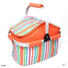 20L Insulated Folding Cooler Picnic Basket Bag-Free shipping