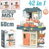Modern 42PCS Kitchen toy set - Blue-Free shipping