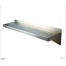 Stainless Steel Wall Mount shelf -1.0m