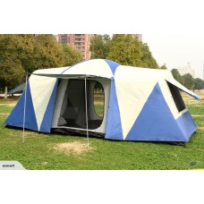 12-Person 2 Bedrooms With 1 Living Room Tent
