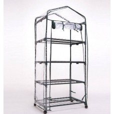 New 4 Tier Portable GreenHouse-Free shipping